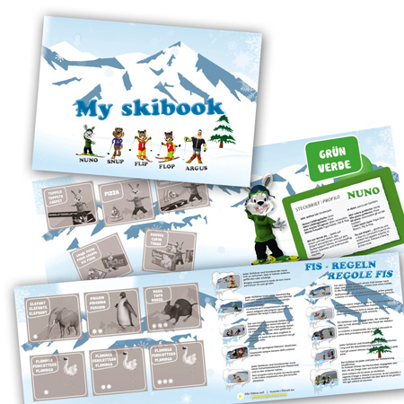 My Skibook Stickeralbum